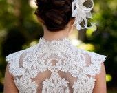 Phoebe | Gorgeous French Lace Bolero