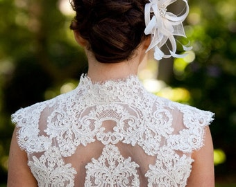 Lace Wedding Bolero - Lace Bolero - Lace Shrug - Phoebe