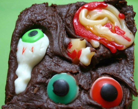 Chocolate Fudge with Hidden Body Parts