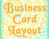 BUSINESS CARD LAYOUT to match your banner and avatar set graphics