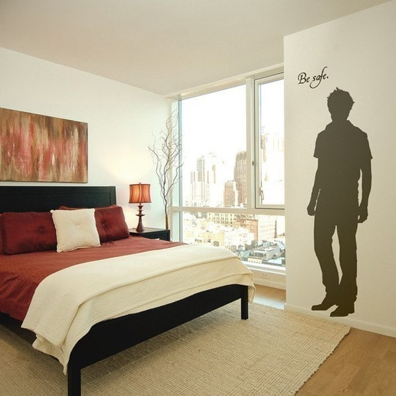 The Original Edward Cullen Life Size Vampire Silhouette Vinyl Wall Decal