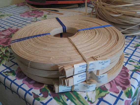 Wood Basket Weaving Supplies : Basket weaving supplies wood reed for basketry by