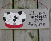 Not Spotless Christian Sign