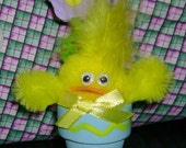 CLEARANCE - 50 cents - Potted Chick