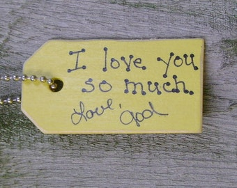 SALE - I love you so much...Christian/Inspirational Key Chain