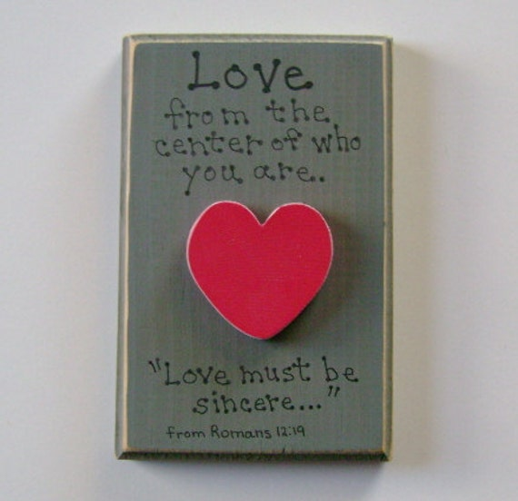 CLEARANCE LOVE Christian Wall Hanging