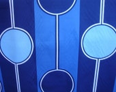 vintage 1970 Sheridan brand fabric - pendulum