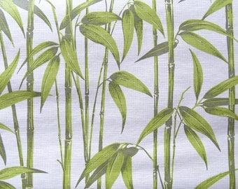 vintage wallpaper - bamboo - per  yard - FOLDED