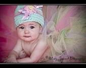 READY2SHIP Pastel Sweetness Tutu - 18 waist 10 length fits most 1 to 2 yr olds Birthday Portraits