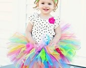Tutu Dotties Springtime Birthday Tutu Store Closing Sale Ready2ship 2 to 3 years