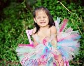 Bright Birthday Frills Tutu 1st 2nd 3rd 4th Newborn Infant Girl custom made to order Birthday Photo prop