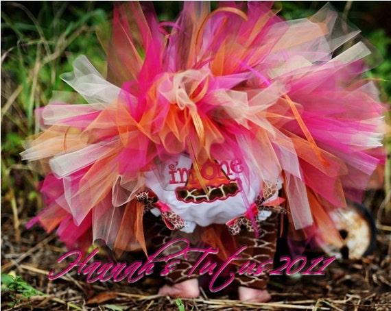 Sassy Giraffe Birthday TUTU 1st 2nd 3rd 4th Newborn Girl CUSTOM MADE to order 1st Birthday Party Tutu