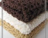 Pattern in PDF crochet dishcloth