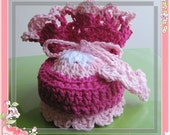 PATTERN Crocheted baby/toddler maryjane booties -- 3 - 6 months