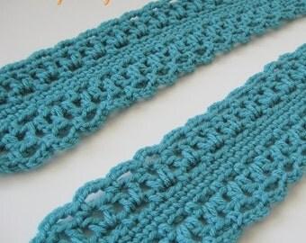 scarf pattern crocheted scarf PATTERN crocheted scarf -- Scarf 17