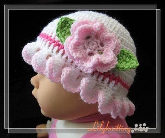 Crochet - Baby Cloche - E-patternscentral.com