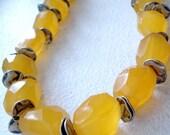 Sunny Chalcedony Necklace