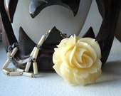 Ivory Rose Blossoming Necklace