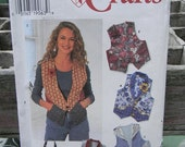 Simplicity Vest and Bag Pattern N 7151 Uncut 1996 Sizes 12 thru 16