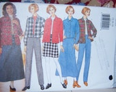 Butterick Misses Skirt, Jacket and Pants Pattern N-4585 Uncut Sizes 14 thru 18