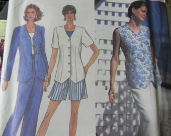 Simplicity Misses Pants or Shorts and Top Pattern N 8487 Sizes 6 thru 12