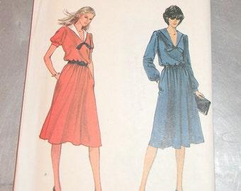 Vogue Misses Dress Pattern N 7903 Uncut Size 10
