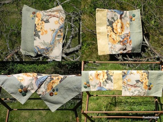 2 Throw Pillows Eco Friendly