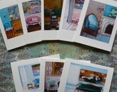 Paris Interiors...Note Card Instant Collection