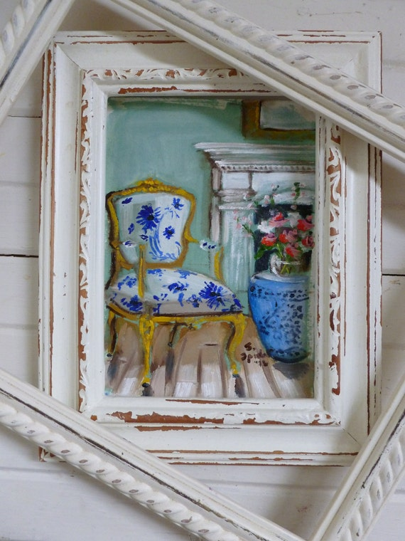 Chair Painting...Original Oil Painting