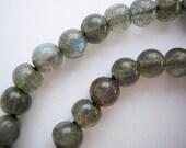 LABRADORITE 5MM High Quality gemstone beads