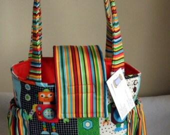 Small Robot Toddler Short Trip Diaper Bag