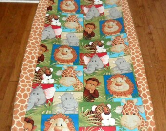 Jungle Babies Changing Pad Cover Adorable  New Print