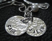 "Cyber Monday 5/8"" 22g personalized jewelry - hand stamped necklace"