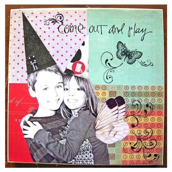 Custom Photo Collages-Kids