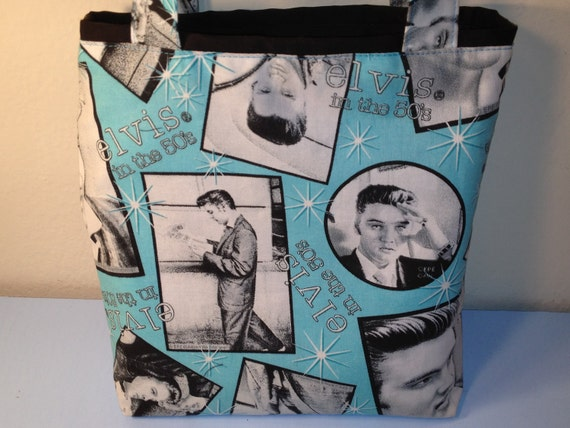 Mother Used to be a Teenager, Elvis Gift Tote Bag, Gift Wrap, Mother's Day, Rock and Roll, Reusable Gift Wrap