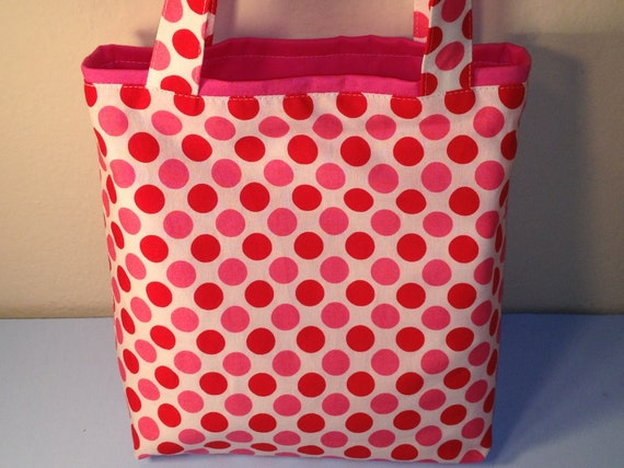 SPECIAL ORDER for CHRISTINE, Follow the Dots, Fabric Gift Tote Bag, Gift Wrap, Birthday, Christmas, Reusable Gift Wrap
