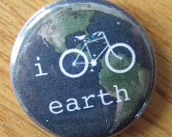 "bike earth 1"" button"