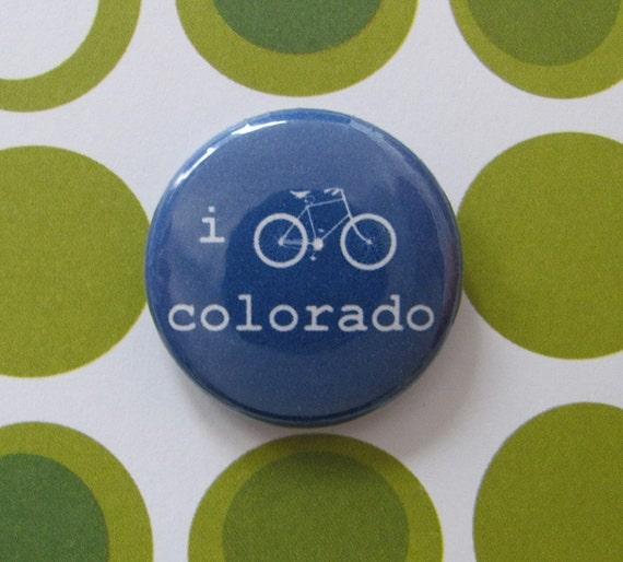 "bike colorado 1"" button"