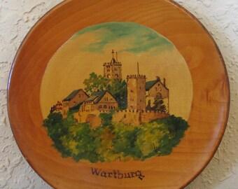 Kitschy Cool Wooden Wartburg Castle Souvenir
