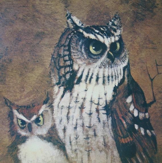 Richard Screech Owls