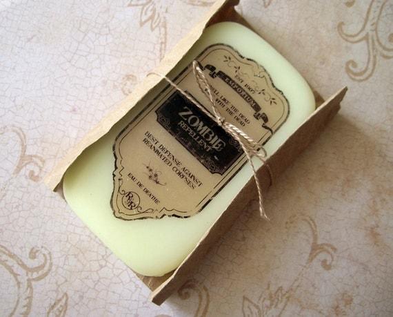 Zombie repelentl soap