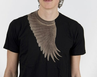 Wing t-shirt Black
