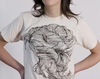 SALE Hair T-shirt Cream