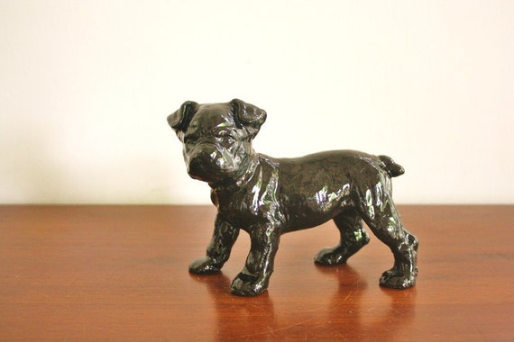 Vintage cast iron puppy hubley dog doorstop - Cast iron dog doorstop ...