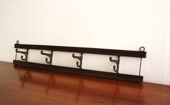 innovative wood wall mounted coat rack table