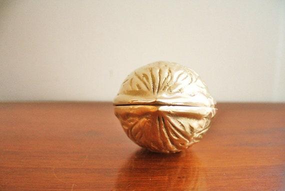 Giant brass walnut, nutcracker