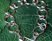 Fused Fine Silver Bracelet