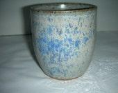 Wheel Thrown Stoneware Blue-Violet Teabowl