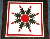 Christmas Wreath Wall or Table Top Quilt