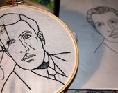 diy pattern - hand embroidery - pattern from your photo - Personal Custom Line Art Hand Embroidery Pattern made from your own Photo